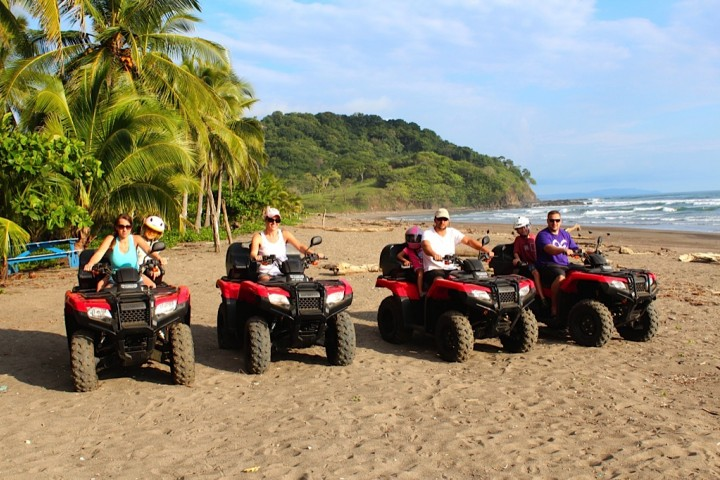 atv tour rental samara costa rica info center adventure 9