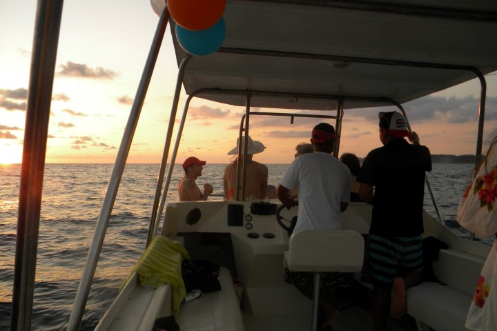 catamaran sunset tour samara costa rica info center party 4 Large