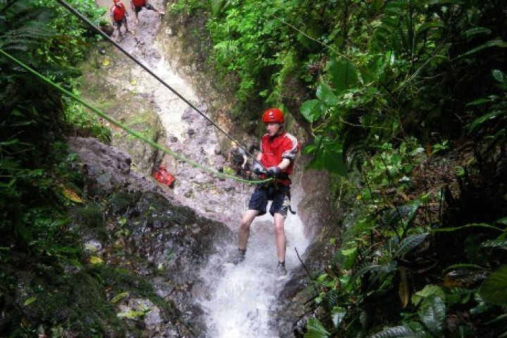 samara arenal 1 day hot springs rappelling hanging bridges tour costa rica info center 4