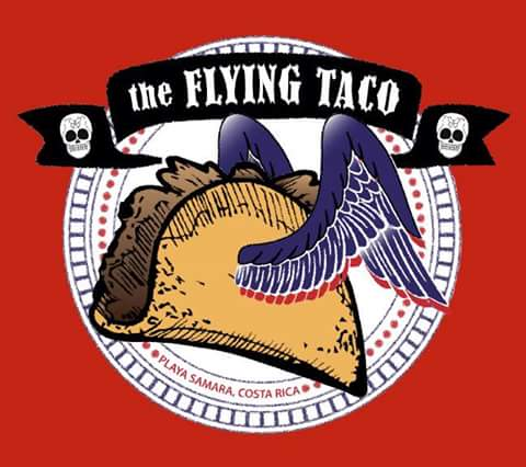 flying taco samara beach logo