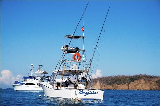 Kingfisher sportfishing playa carrillo costa rica deep for Costa rica fishing calendar