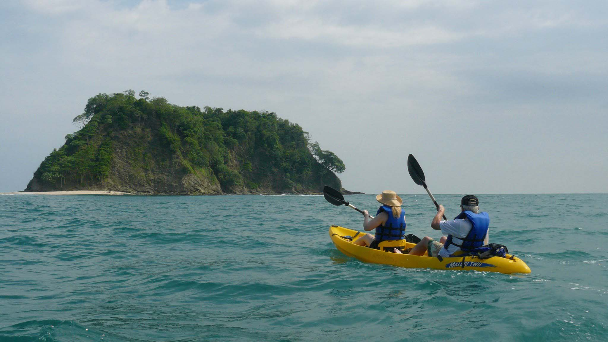 Kayak snorkeling samara costa rica tropical fish safe for Fishing guanacaste costa rica
