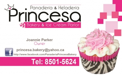 logo princesa bakery samara costa rica info center